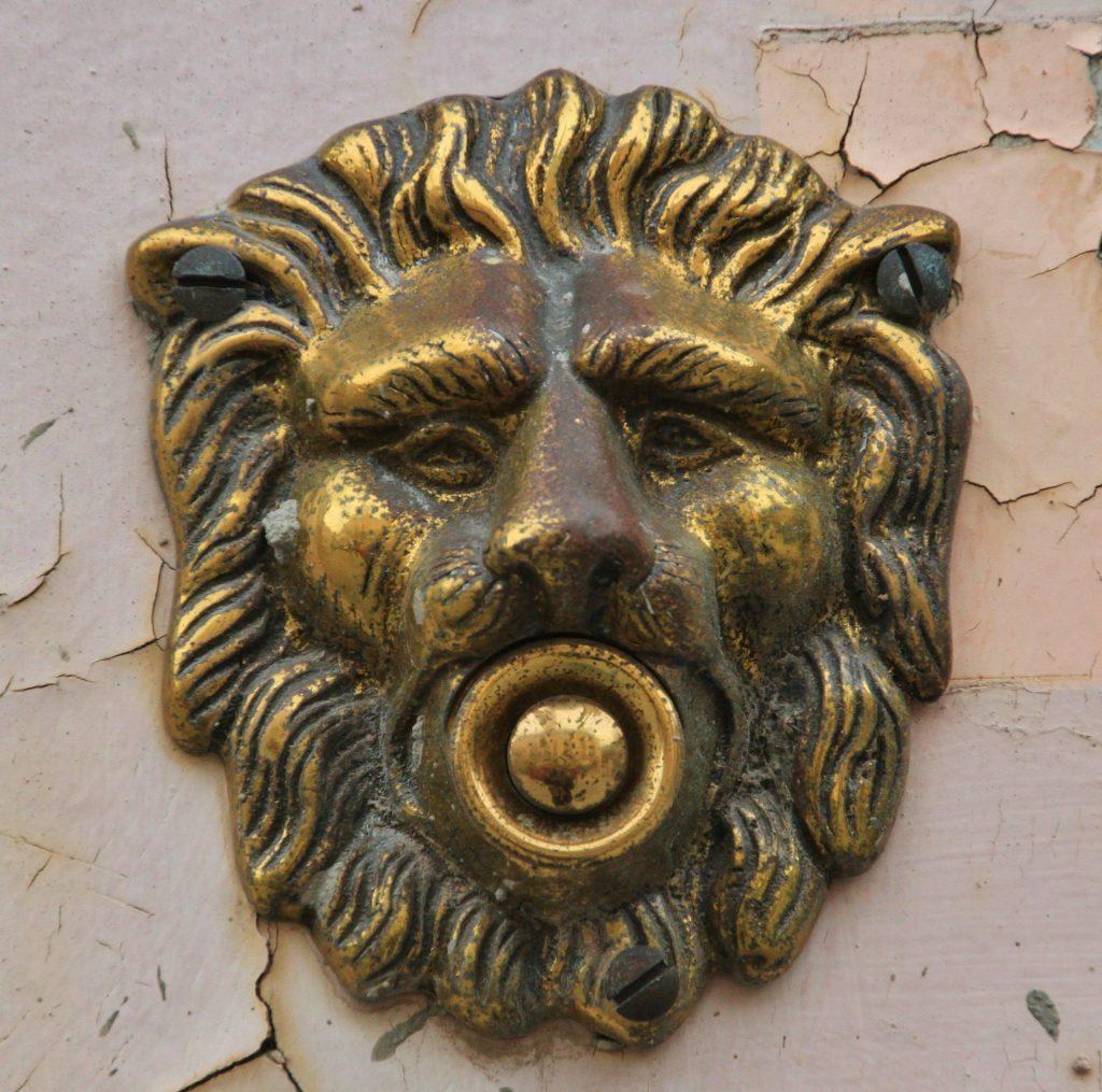 ouderwetse deurbel