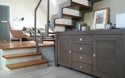 Modern interieur voorbeeld van een woonkamer