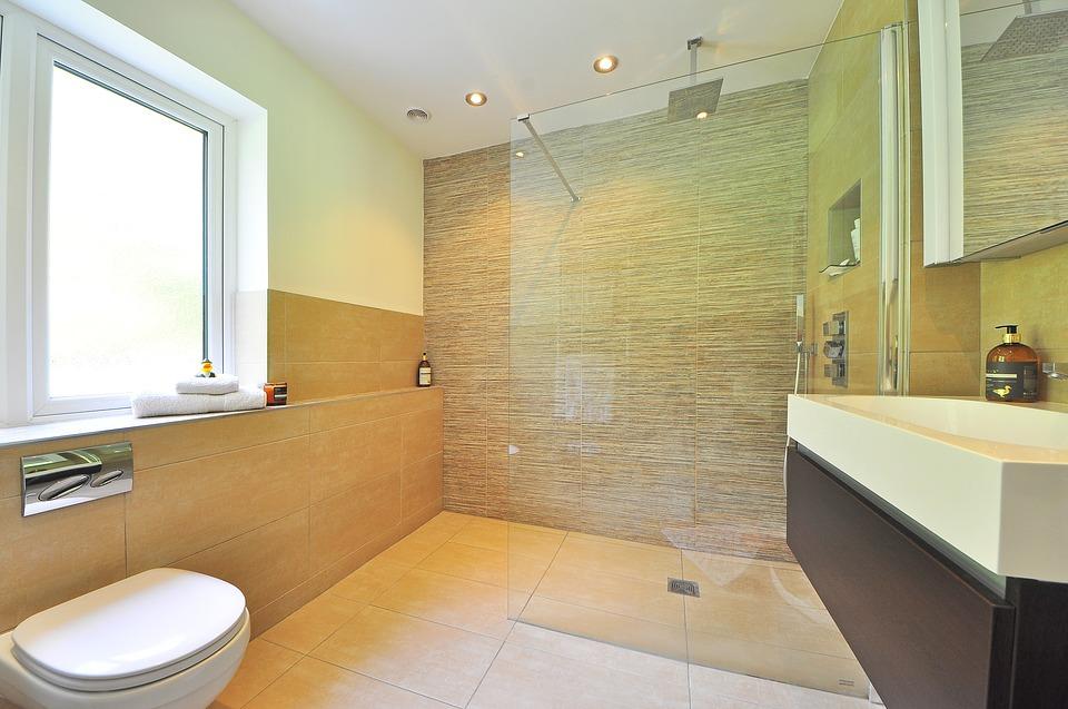 Rustige badkamer