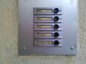 moderne deurbel