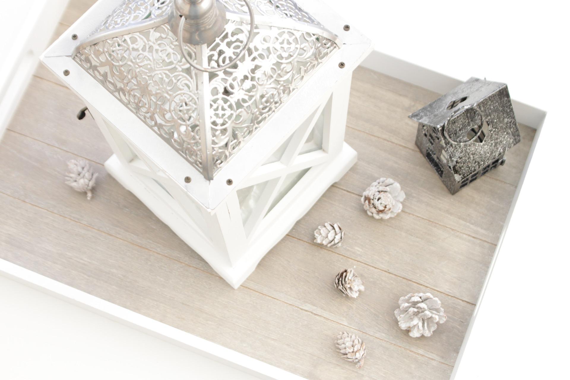 Minimalistische accessoires zijn kenmerkend voor Scandinavisch interieur