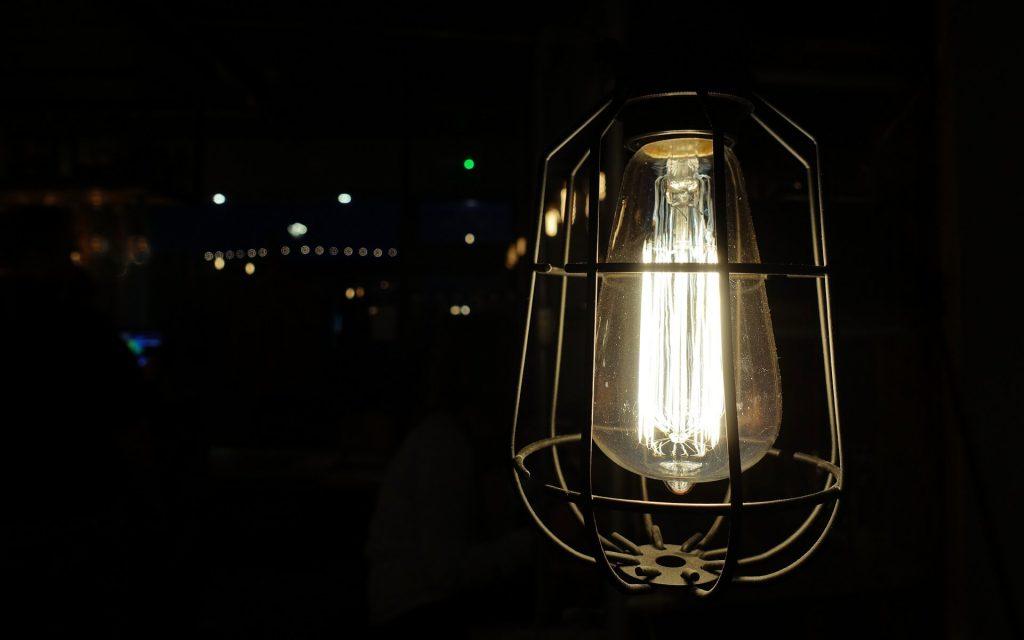 industriële lamp in huis halen